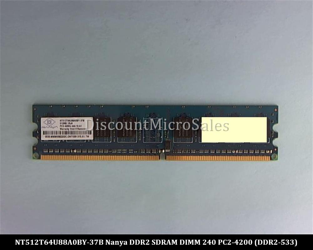 4x 2GB 8GB // 1GB PC2-4200S 533MHz DDR2 SODIMM Laptop RAM Memory For NANYA LOT